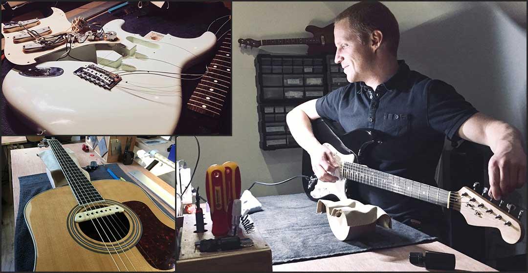 Atelier de lutherie : réglage, réparation guitare, basse, ampli