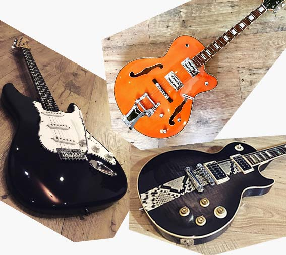 customisation optimisation guitare valenciennes