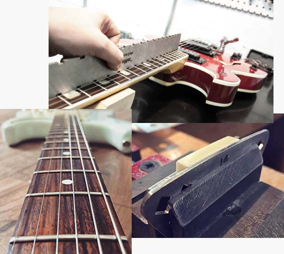 réglage entretien guitare valenciennes